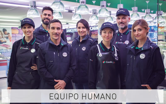 Equipo humano - Condis